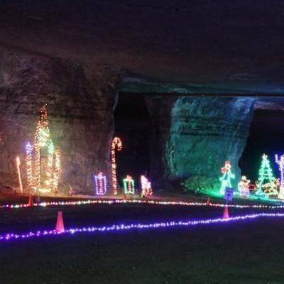 Mega Cavern Christmas Lights.Lights Under Louisville